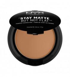 NYX PROFESSIONAL MAKEUP Пудра Stay Matte But Not Flat Powder Foundation - Deep Rich 187